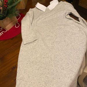 Cynthia Rowley Large Gray Dress